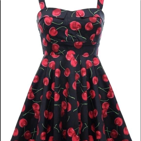Dresses & Skirts - Cherry Jubilee dress NWOT